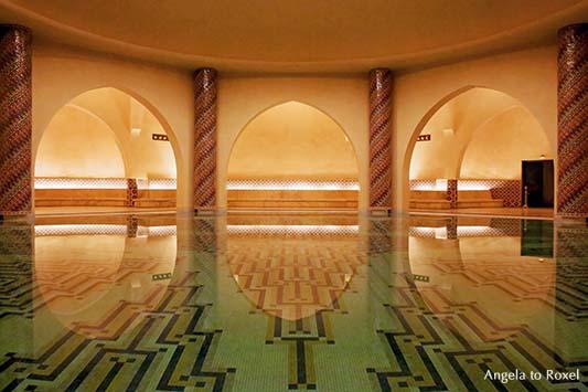 Fotografien kaufen: Hamam, Hassan-II.-Moschee, Casablanca, available light, Casablanca / Marokko | Architektur Bilder kaufen, Ihr Kontakt: A. to Roxel