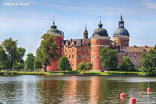 Architekturbilder kaufen: Schloss Gripsholm am Mälarsee, Mariefred, Schweden | Ihr Kontakt: Angela to Roxel