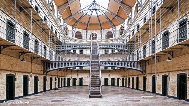 Fotografie: Kilmainham Gaol, ehemaliges Gefängnis, Innenansicht, Dublin - Irland 2013