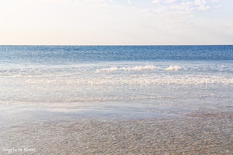 Wellen am Strand, Mehrfachbelichtung | Landschaftsbilder kaufen