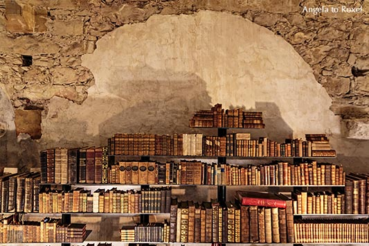 Fotografie: Alte Bibliothek im Kloster Dalheim, ehemaliges Augustiner-Chorherrenstift bei Lichtenau, Kreis Paderborn | Angela to Roxel