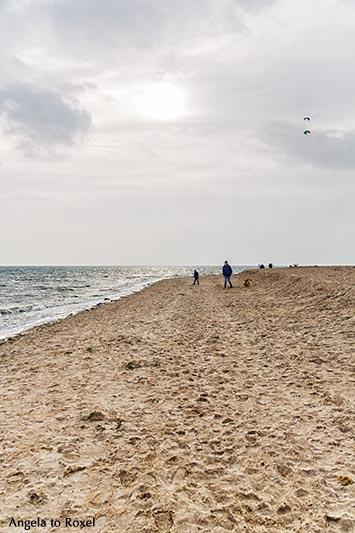 Fotografie: Herbsttag am Strand, Gegenlicht, Wyk auf Föhr, Nordfriesland, Schleswig-Holstein | Ihr Kontakt: Angela to Roxel