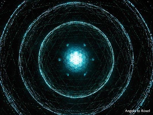 Kunstfotografie kaufen: Magisches Licht in einem Kaleidoskop, Kreise und Muster, Riesenkaleidoskop in der Camera Obscura, Experimente mit Licht