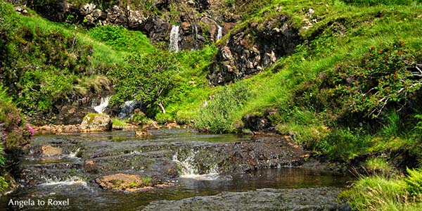 Landschaftsbilder kaufen: Fairy Pools, Wo Feen baden ... Wasserfälle im Glen Brittle auf der Isle auf Skye, Inneren Hebriden, Schottland | A. to Roxel