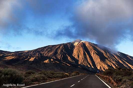 Panoramastraße TF-24 Richtung Pico del Teide, Abendtour zum dritthöchsten Inselvulkan der Erde auf der Kanarischen Insel Teneriffa | Angela to Roxel