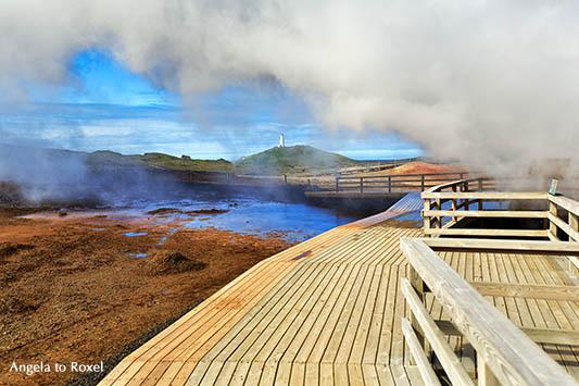 Hochtemperaturgebiet am Vulkan Gunnuhver, Halbinsel Reykjanes, nahe Reykjavik, Island 2018 - Angela to Roxel | Fotografien